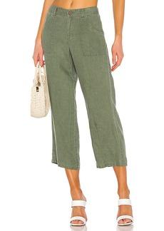 Sanctuary Traveler Wide Leg Crop Utility Pant