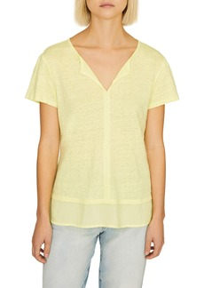 Sanctuary Uptown Linen Tee (Regular & Petite)