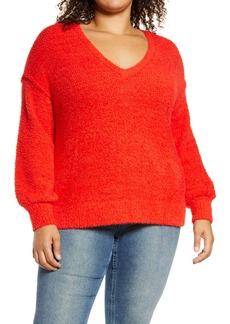 Sanctuary V-Neck Sweater (Plus Size)