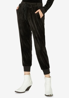 Sanctuary Velour Jogger Pants