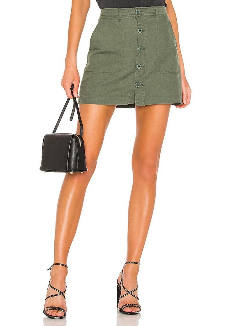 Sanctuary Venture Surplus Button Front Skirt