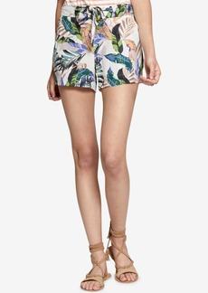 Sanctuary Wild Flower Printed Tie-Waist Shorts
