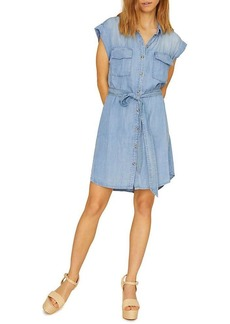 Sanctuary Women's Dusty Sleeveless Shirt Dress