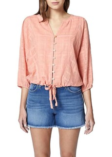 Sanctuary Women's Indio Tie Front Top