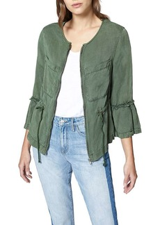 Sanctuary Women's Military Frill Peplum Jacket