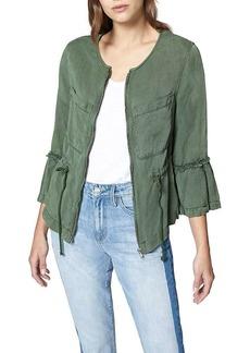 Sanctuary Women's Military Frill Peplum Jacket