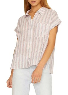 Sanctuary Women's Mod Short Sleeve Boyfriend Shirt