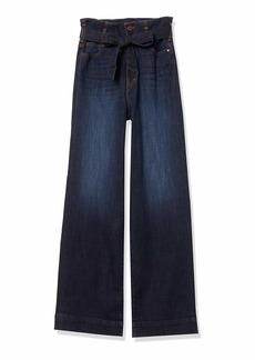 Sanctuary Women's Non Confirmist Paperbag Wide Leg Jean