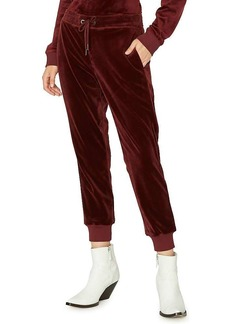 Sanctuary Women's Velour Track Jogger