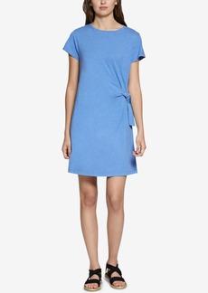 Sanctuary Wrapsody Cotton Tie-Side Dress