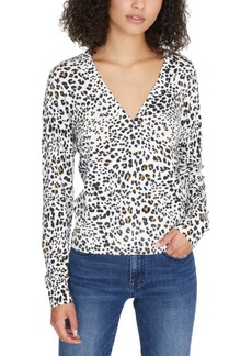 Sanctuary Xoxo Animal Print Sweater