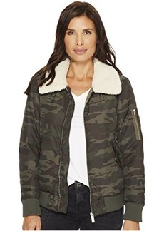 Sanctuary You Are Perfect Camo Bomber