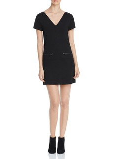 Sanctuary Zip Pocket Shift Dress