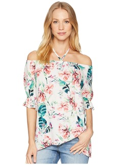 Sanctuary Sandy Ballet Tie Neck Top