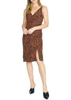 Sanctuary Save the Date Leopard Print Sheath Dress