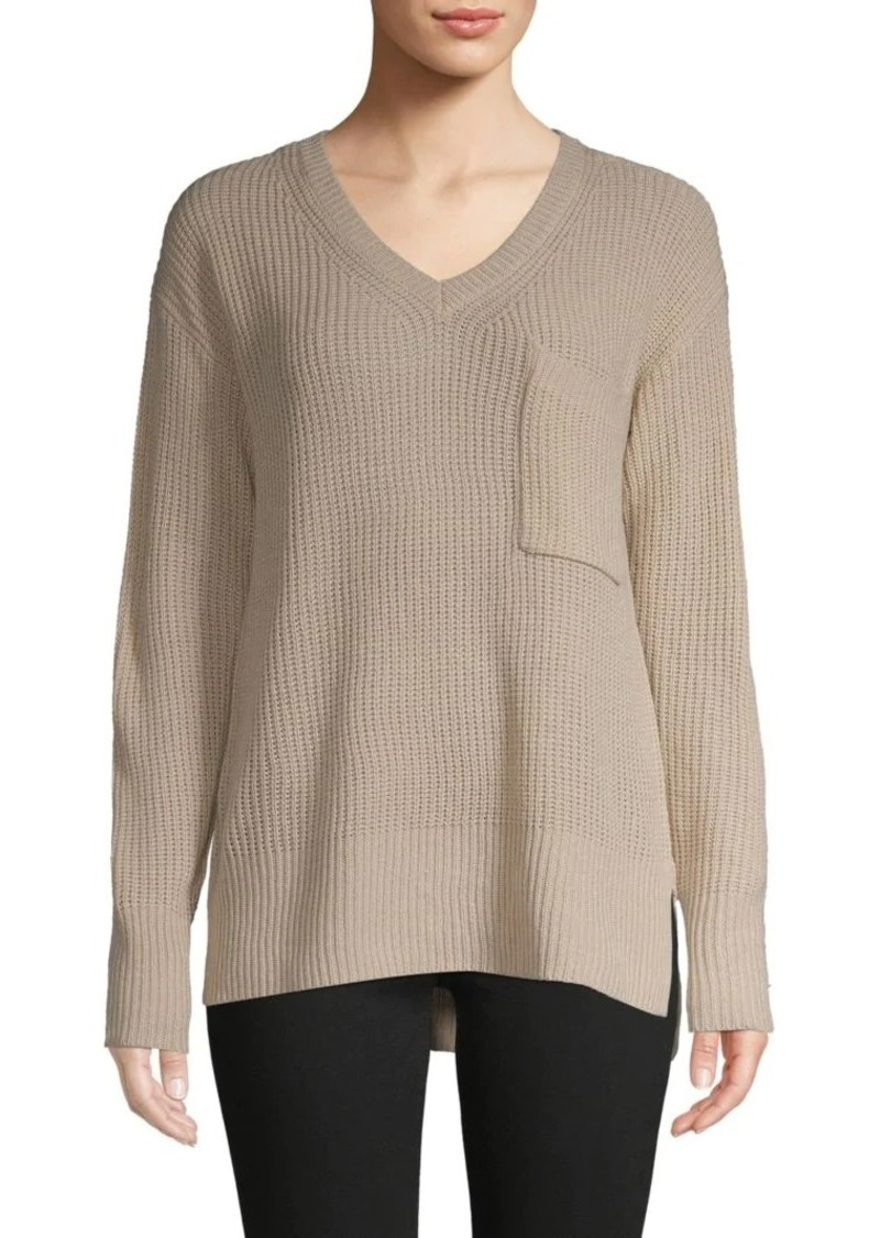 Sanctuary Shaker Oversized Rib-Knit Sweater