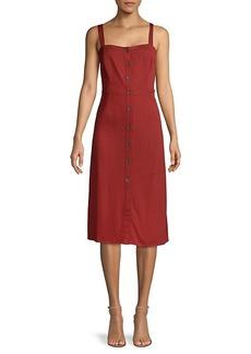 Sanctuary Sleeveless Button-Front Dress