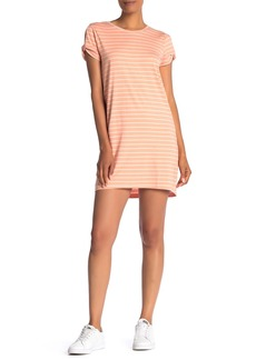 Sanctuary So Twisted Striped T-Shirt Dress