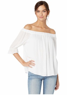 Sanctuary Soak Up The Sun Peasant Top