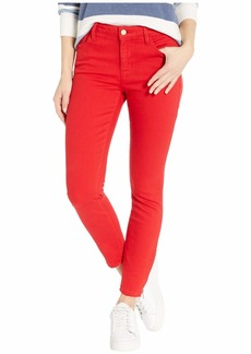 Sanctuary Social Standard Ankle Zip Jeans in Street Red