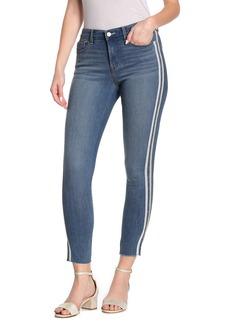 Sanctuary Social Standard Metallic Side Stripe Skinny Jeans