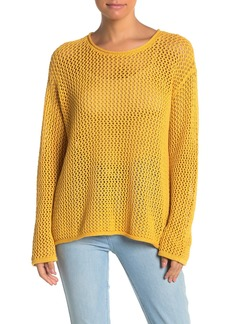 Sanctuary Soledad Open Stitch Cotton Sweater