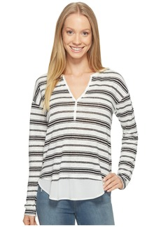 Sanctuary Striped Faraday Henley Top