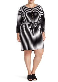 Sanctuary Sullivan Henley Knit Dress (Plus Size)