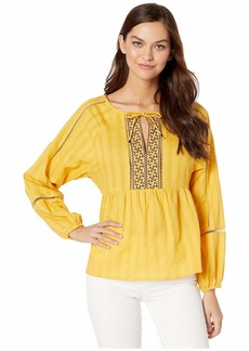 Sanctuary Summer Embroidered Top