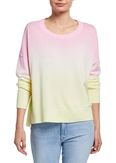 Sanctuary Sunsetter Ombre Crewneck Sweater