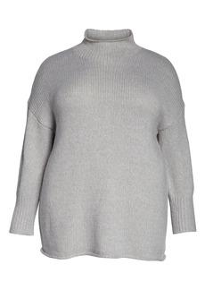 Sanctuary Supersized Curl Up Sweater (Plus Size)