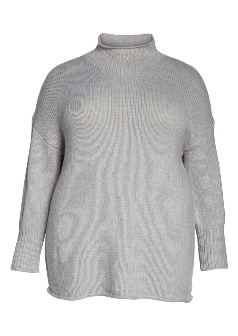 Sanctuary Supersized Curl Up Sweater (Plus Size)