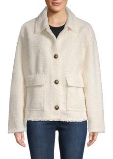 Sanctuary Textured Spread Collar Jacket