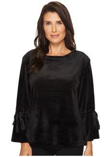 Sanctuary Tierney Velour Popover Sweatshirt