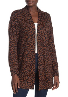 Sanctuary Up Camp Leopard Knit Cardigan (Regular & Petite)