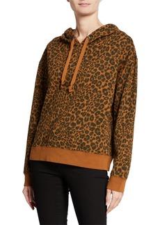 Sanctuary Venice Leopard-Print Cotton Hoodie