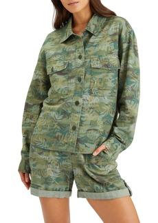Women's Sanctuary Crop Shirt Jacket