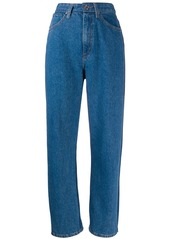 Sandro high-waisted straight jeans