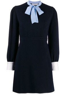 Sandro a-line bow dress