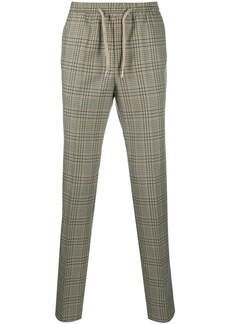 Sandro Alpha checked trousers
