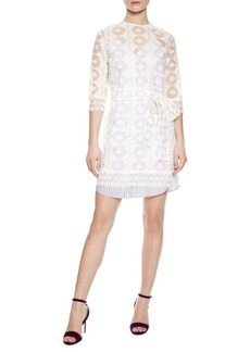Sandro Alvea Lace Tunic Top