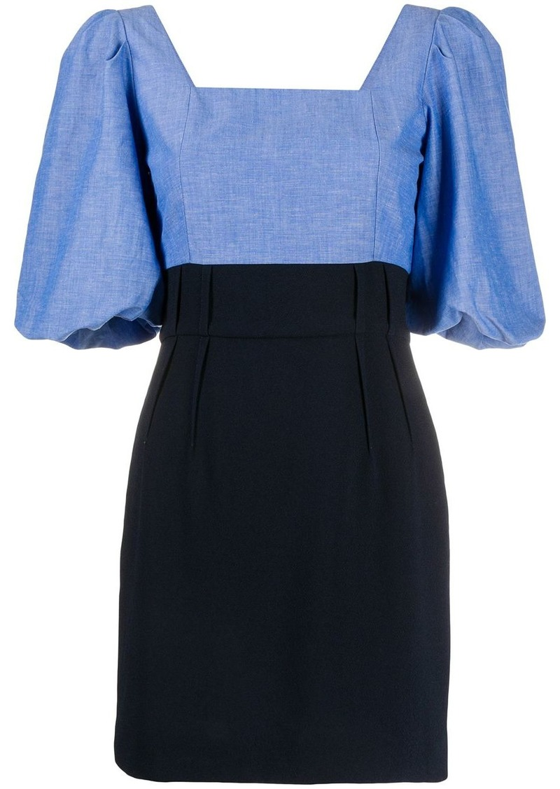 Sandro bell sleeve square neck dress