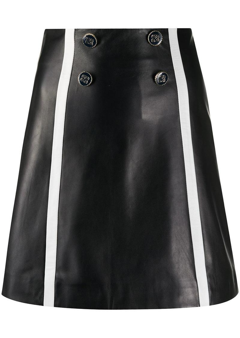 Sandro button detail skirt