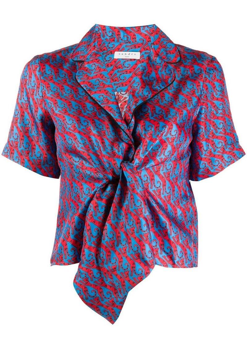 Sandro Caty shirt