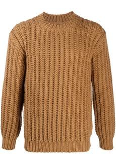 Sandro chunky alpaca wool jumper