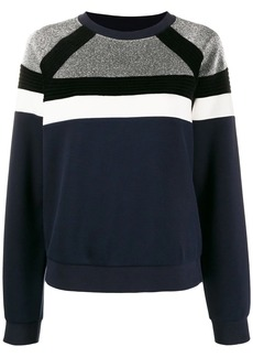 Sandro colour block sweatshirt