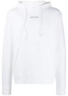 Sandro contrast logo hoodie