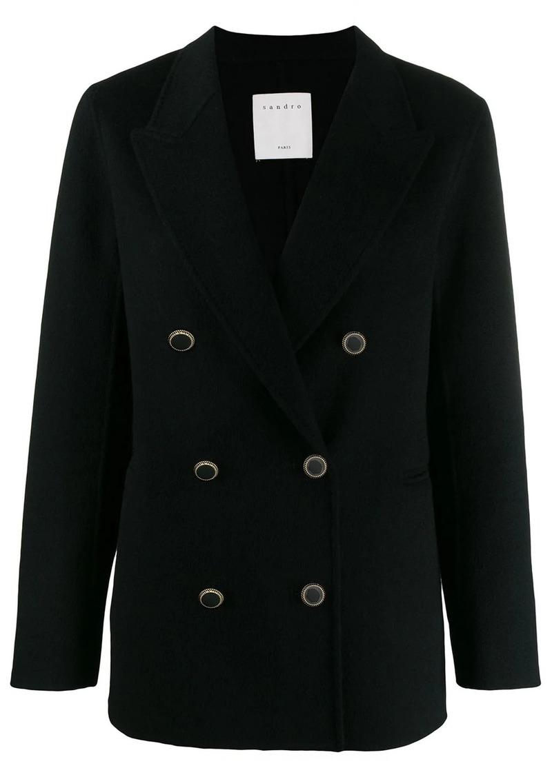 Sandro double-breasted jacket