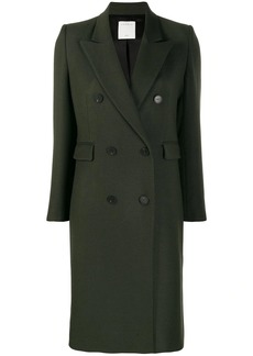 Sandro double breasted midi coat