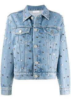 Sandro embellished denim jacket